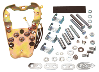 LATE STYLE DASH MOUNTING PLATE