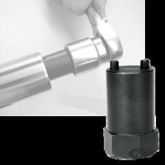 FORK TUBE SPRING RETAINER REMOVER/INSTALLER TOOL