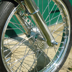 KUSTOM TECH MINI FRONT BRAKE DRUM