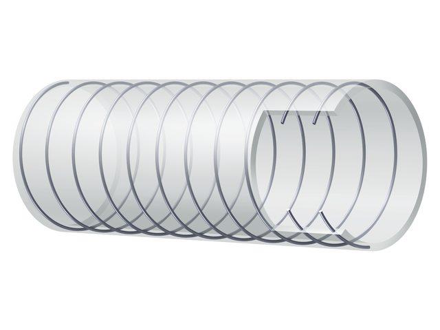 Slang helder met spiraal 13x19mm (30)