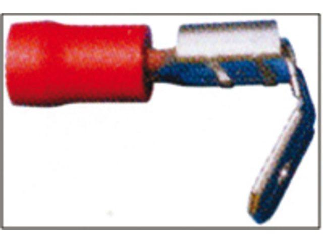 Vlakstekkers met tong 6,3 x 0,8 mm