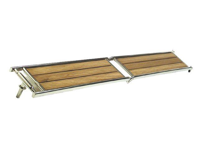 Loopplank RVS Iroko