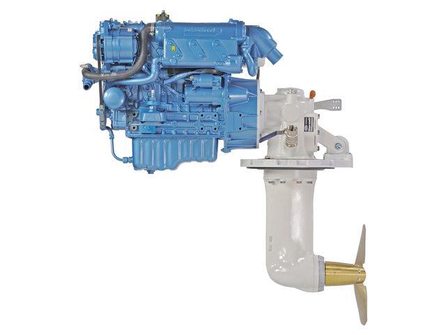 Nanni Motoren met Saildrives voor nieuwe installaties