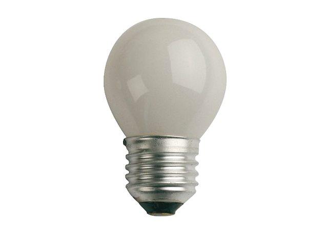 Kogellamp E14 45x75 12V 25W mat