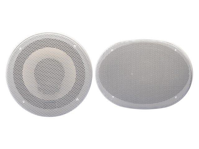 3-way stereo speakers