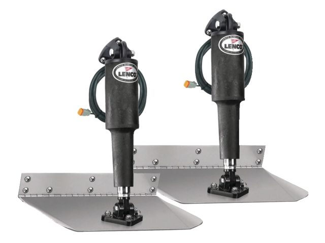 Lenco electrische trim tab kits