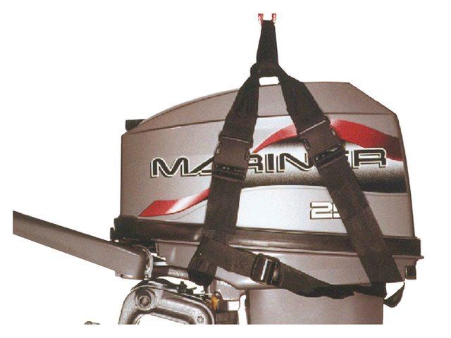 Hijsstrop voor buitenboordmotor max 25pk/50kg