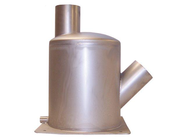 Waterlock staande uitvoering RVS304