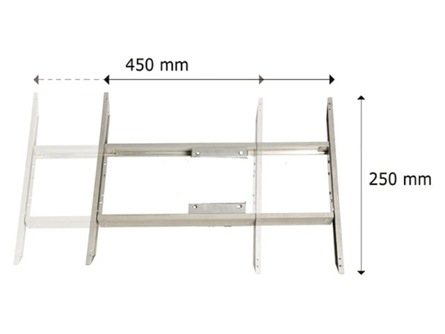 Bi-directioneel tafelschuifstuk