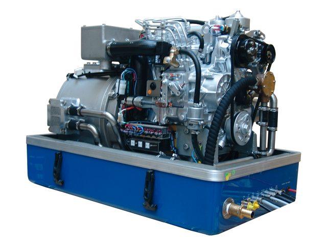 Fischer Panda Marine generatoren 1500 toeren Heavy Duty Line 1-fase