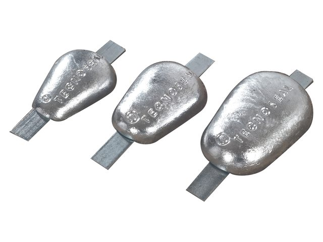 Tecnoseal anoden met stalen lasstrip type 2