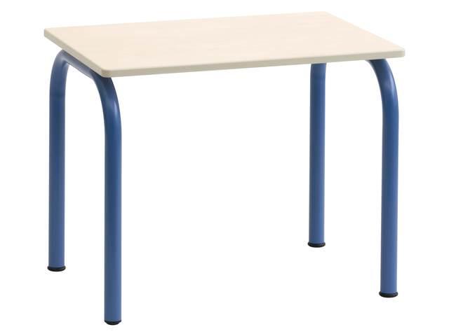 Kleutertafel 4 poot 70 x 50 cm met pp rand hoogte a1 b2 for Meubilair basisonderwijs