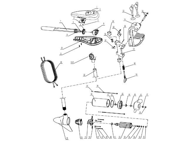 talamex trolling motors spare parts