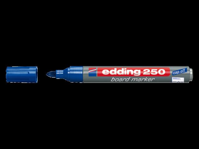 Photo: VILTSTIFT EDDING 250 WHITEBOARD ROND 1.5-3MM BLAUW