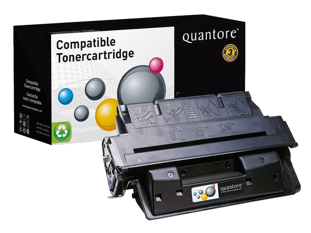 Photo: TONERCARTRIDGE QUANTORE HP C8061X 10K ZWART