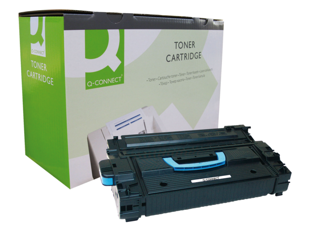 Photo: TONERCARTRIDGE Q-CONNECT HP C8543X 30K ZWART