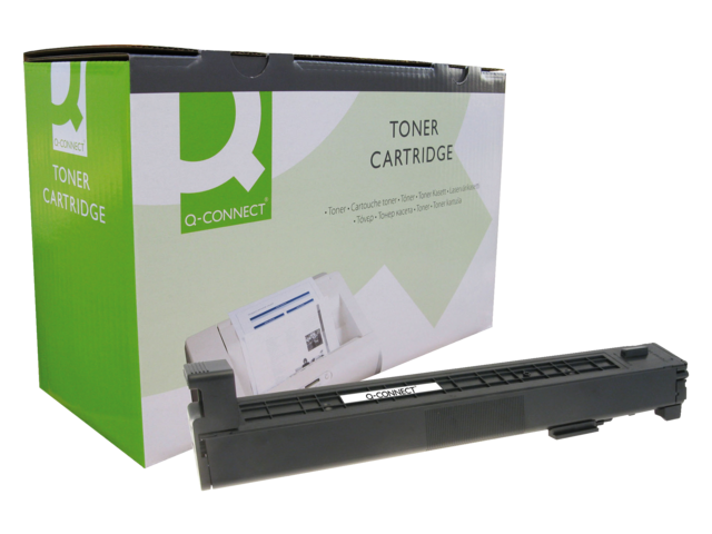 Photo: TONERCARTRIDGE Q-CONNECT HP CB381A 21K BLAUW