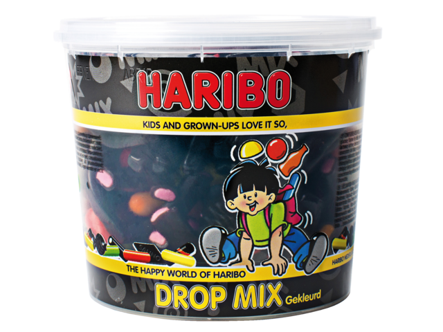 Photo: DROPMIX GEKLEURD HARIBO 650GR