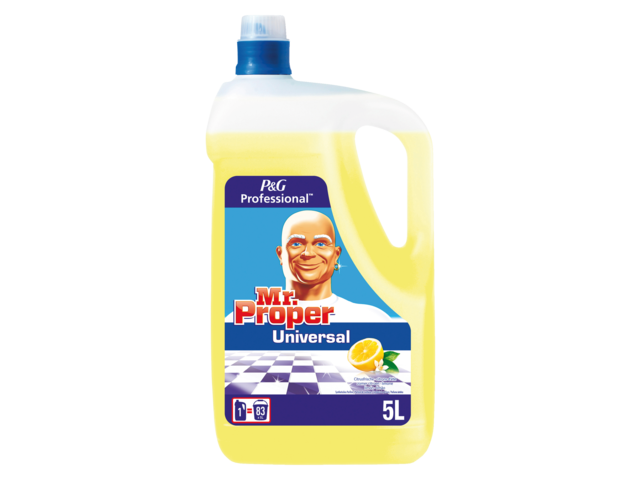 Photo: ALLESREINIGER MR PROPER LEMON 5 LITER