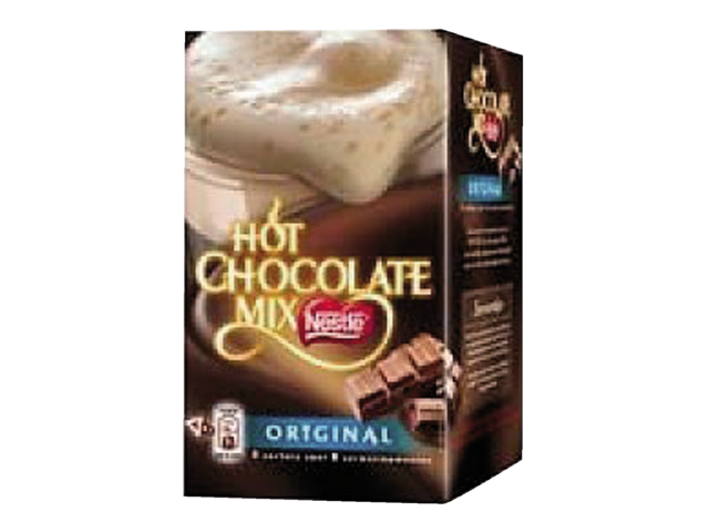 CHOCOLADE NESTLE HOT CHOCOLADE MIX 4