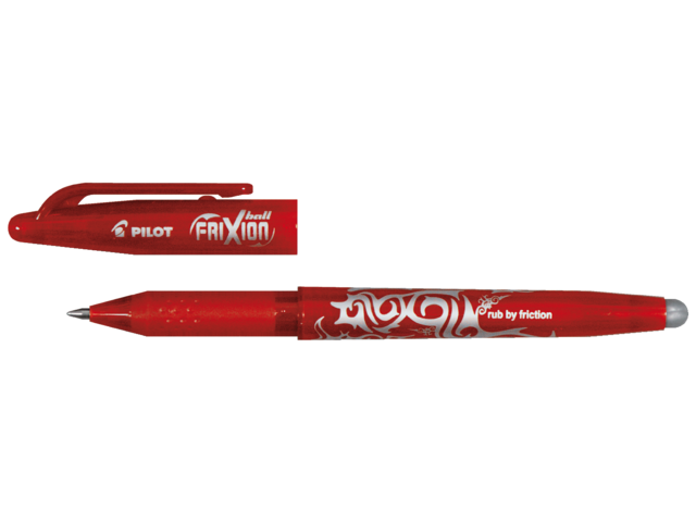 Photo: ROLLERPEN PILOT FRIXION BL-FR7 0.35MM ROOD