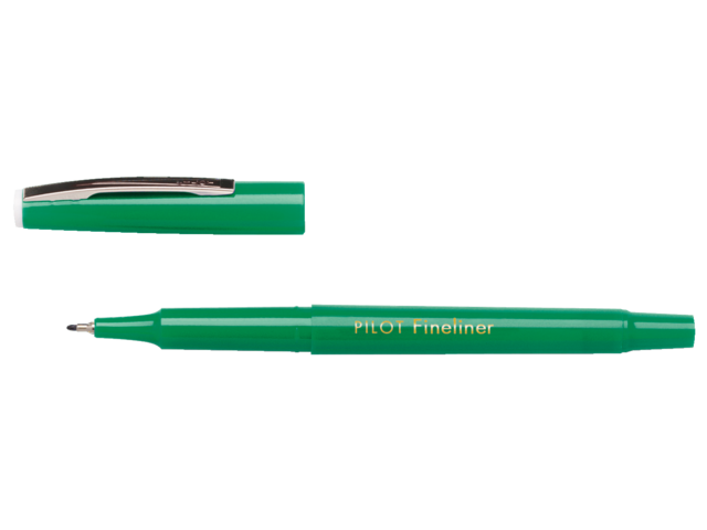 Photo: FINELINER PILOT SW-PPF 0.4MM GROEN