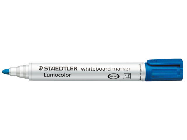 Photo: VILTSTIFT STAEDTLER 351 WHITEBOARD ROND 2MM BLAUW