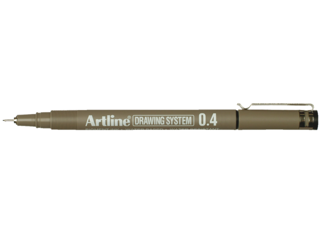 Photo: FINELINER ARTLINE 0.4MM ZWART