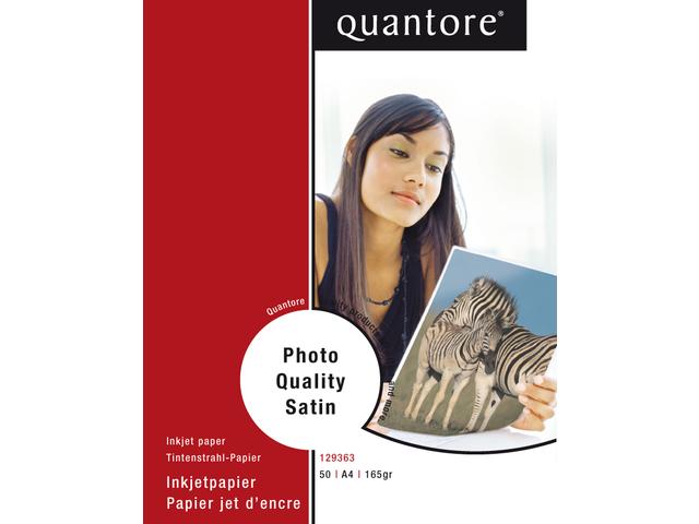 FOTOPAPIER QUANTORE A4 170GR MAT SATIJN 6