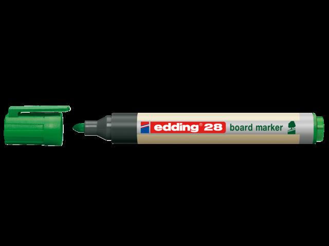Photo: VILTSTIFT EDDING 28 WHITEBOARD ECO ROND 1.5-3MM GN