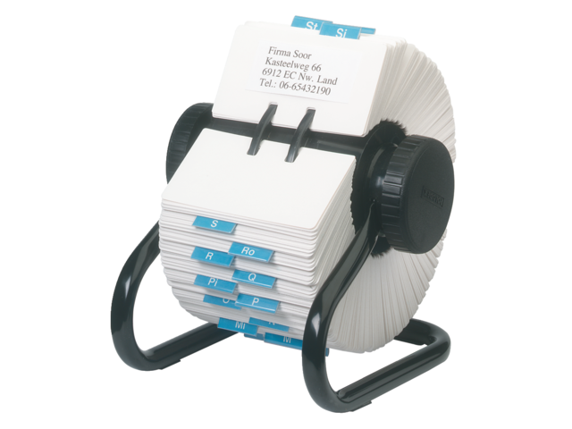 Photo: KAARTENMOLEN ROLODEX RL66704 57X102MM 500KRT ZW