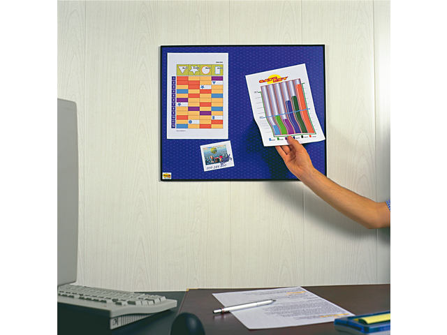 Photo: MEMOBORD 3M POST-IT 558NAVY 58.5X46CM ZK BLAUW