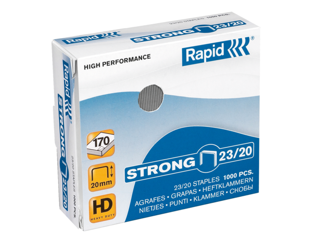Photo: NIETEN RAPID 23/20 GEGALV STRONG 1000ST
