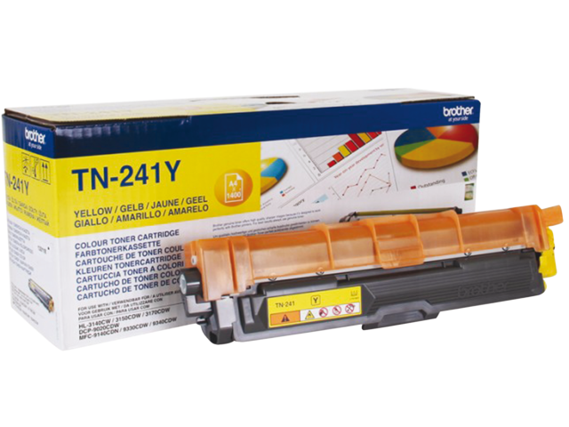 Photo: TONER BROTHER TN-241 1.4K GEEL
