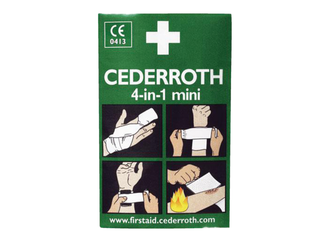 Photo: BLOEDSTOPPER CEDERROTH MINI VERBAND GROOT