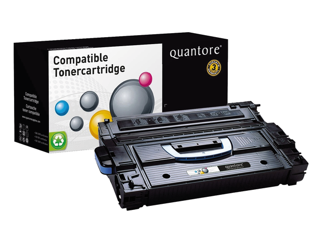 Photo: TONERCARTRIDGE QUANTORE HP C8543X 30K ZWART
