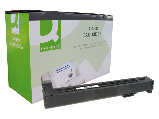 Photo: TONERCARTRIDGE Q-CONNECT HP CB382A 21K GEEL
