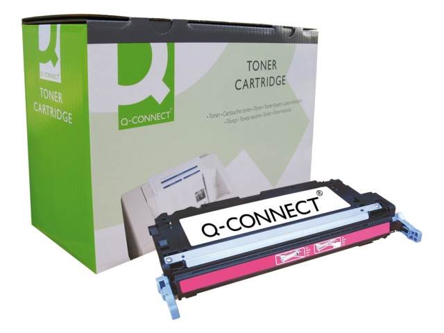 Photo: TONERCARTRIDGE Q-CONNECT HP Q7583A 6K ROOD