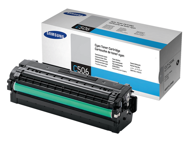 Photo: TONERCARTRIDGE SAMSUNG CLT-C506L 3.5K HC BLAUW
