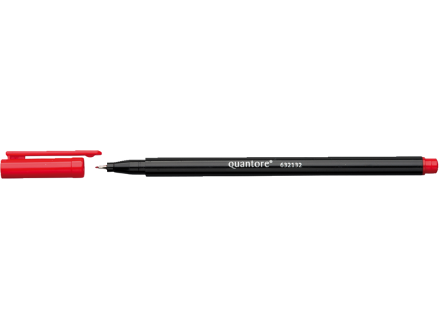 Photo: FINELINER QUANTORE 0.4MM ROOD