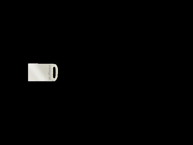 USB-STICK INTEGRAL FD 64GB METAL FUSION 3.0 4