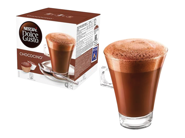 Photo: DOLCE GUSTO CHOCOCINO 16 CUPS / 8 DRANKEN