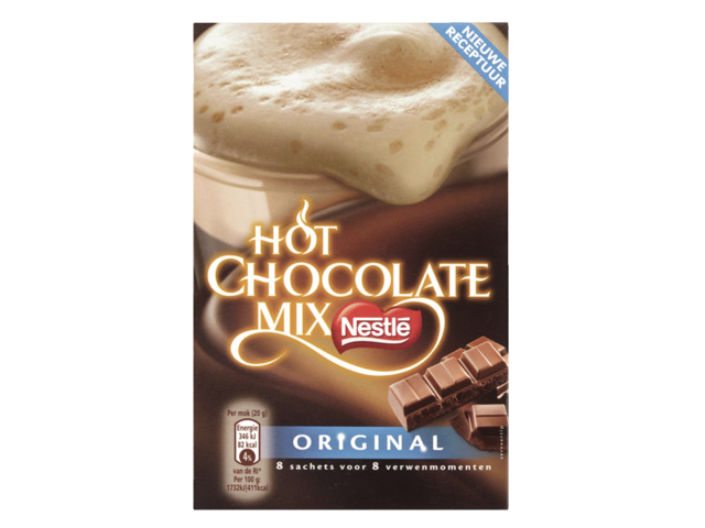 Photo: CHOCOLADE NESTLE HOT CHOCOLADE MIX