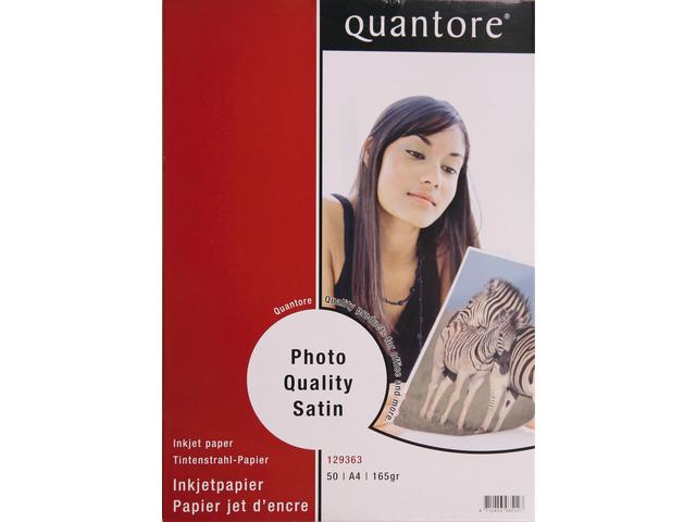 FOTOPAPIER QUANTORE A4 170GR MAT SATIJN 5