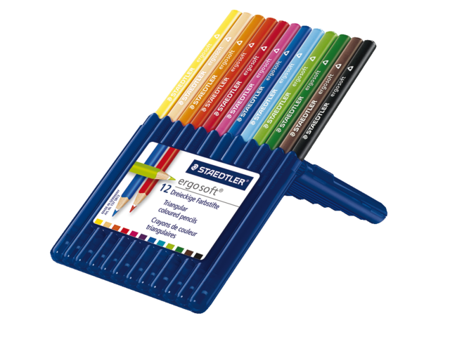 Photo: KLEURPOTLOOD STAEDTLER ERGOSOFT 3KANTIG