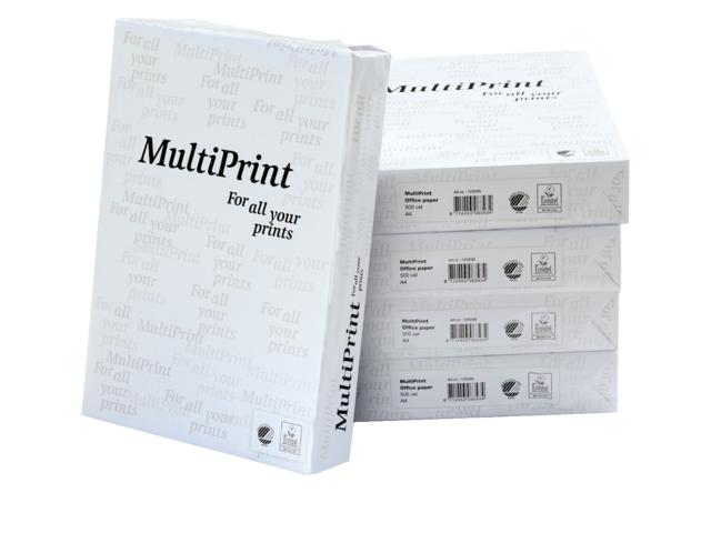 Photo: KOPIEERPAPIER MULTIPRINT A4 WIT