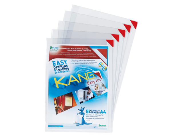 Photo: PRESENTEERHOES KANG EASY CLIC SIGNAGE A4