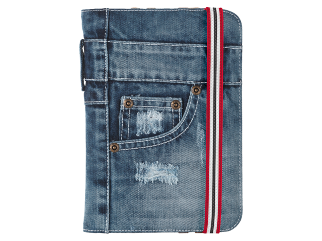 Photo: FOLIO STAND JEANS FOR 7-8 TABLETS