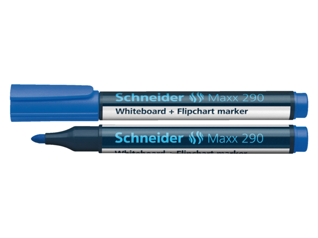 Photo: VILTSTIFT SCHNEIDER 290 WHITEBOARD ROND 2-3MM BLAUW