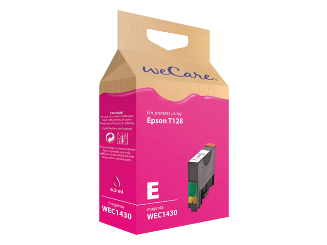 Photo: INKCARTRIDGE WECARE EPS T128340 ROOD
